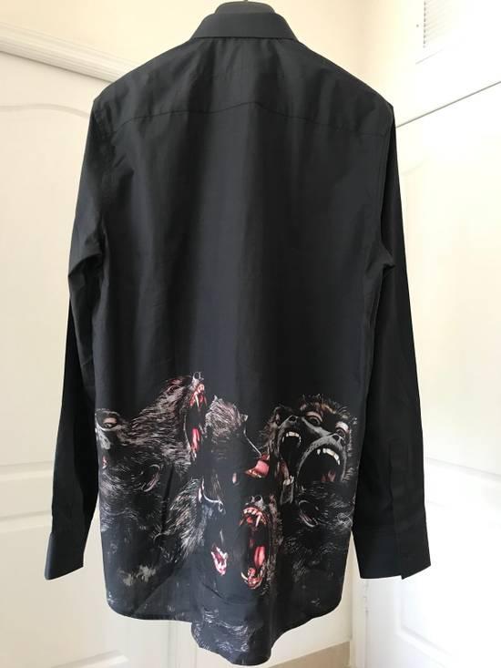 Givenchy Berserk Monkey Dress Shirt Size US M / EU 48-50 / 2 - 1