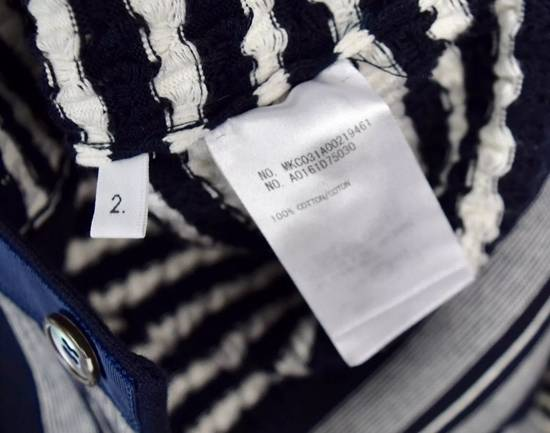 Thom Browne Navy White Cardigan Men's Size 2 Size US M / EU 48-50 / 2 - 3