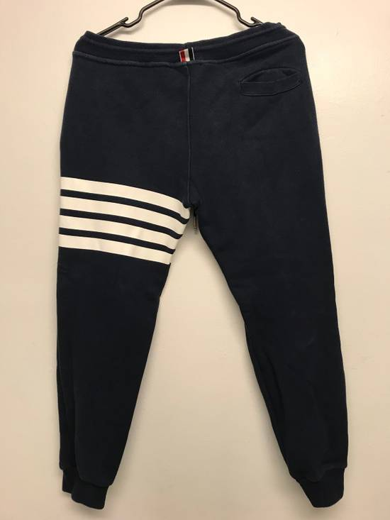 Thom Browne Classic TB Blue Sweatpants Size US 30 / EU 46 - 2