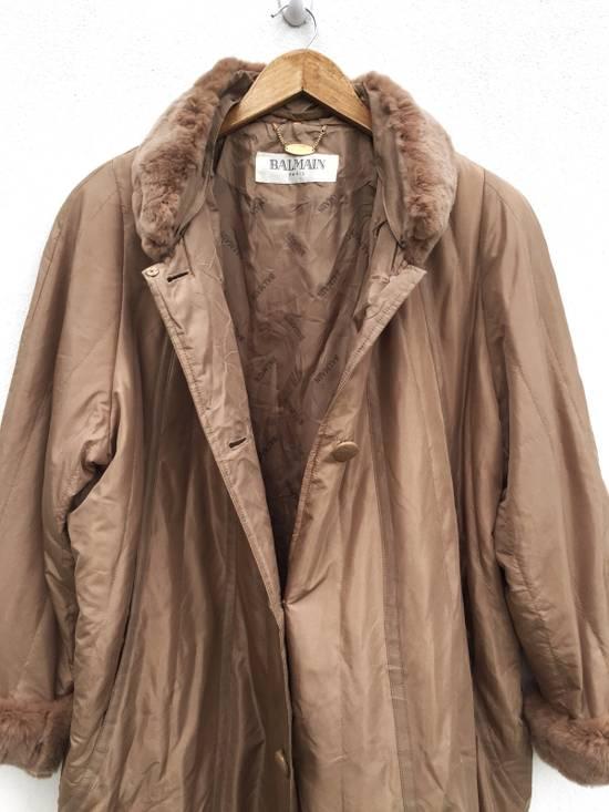 Balmain Balmain Paris Authentic Silk Fur Oversized Long Jacket Size US L / EU 52-54 / 3 - 2