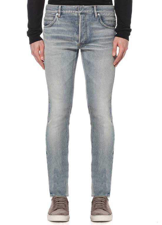 Balmain Side Detail Jeans Size US 32 / EU 48