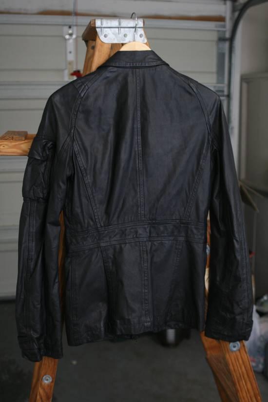 Julius FW08 Cowhide Gasmask Cargo Jacket Size US S / EU 44-46 / 1 - 3