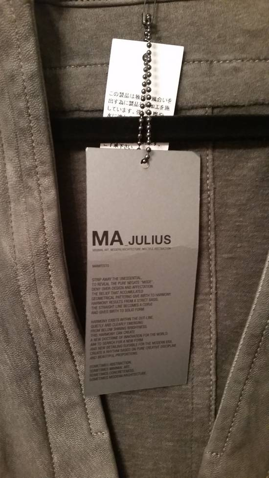 Julius Julius MA leather vest extremely rare Size US M / EU 48-50 / 2 - 1