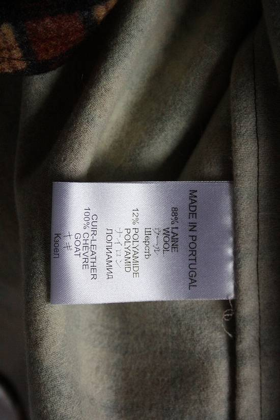 Givenchy AW11 leather plaid shirt Size US S / EU 44-46 / 1 - 6
