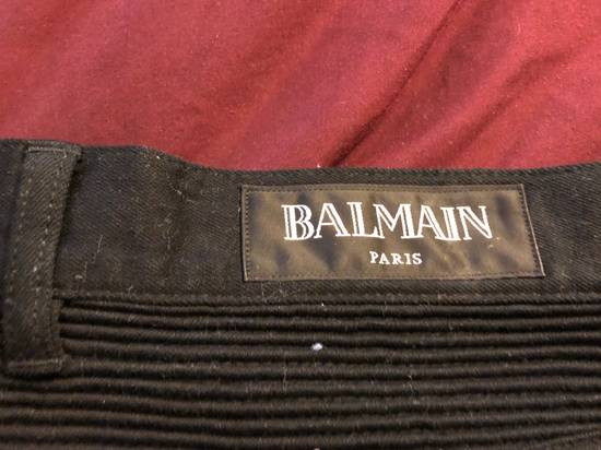 Balmain Black Ribbed Jeans Size US 36 / EU 52 - 3