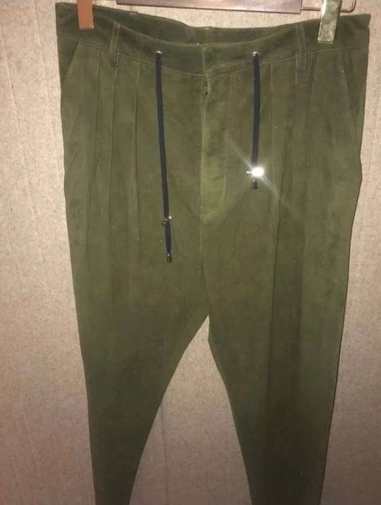 Balmain Leather Pants Size US 34 / EU 50