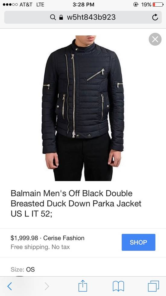Balmain Balmain Double Breasted Duck Down Parka Size US S / EU 44-46 / 1 - 4