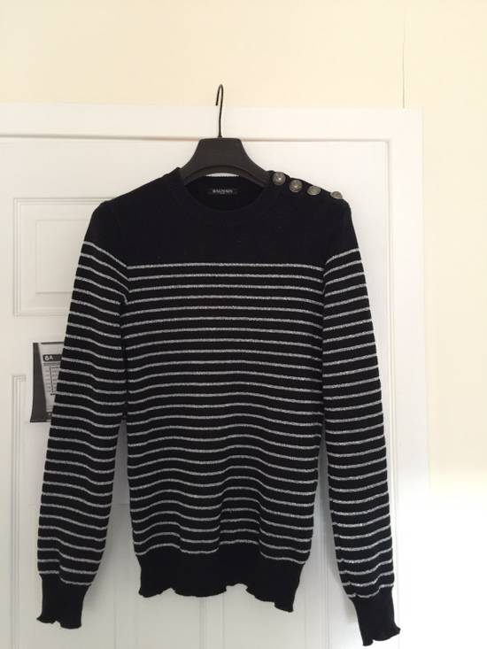 Balmain Balmain Navy Strips Sweaters Size US S / EU 44-46 / 1