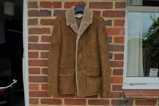 Saint Laurent Paris Hedi's Personal Suede and Shearling Coat Size US S / EU 44-46 / 1 - 1