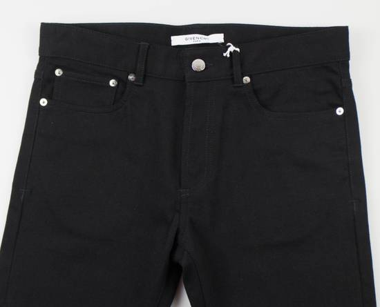 Givenchy Black Cotton Blend Denim Jeans Pants Size US 30 / EU 46 - 2