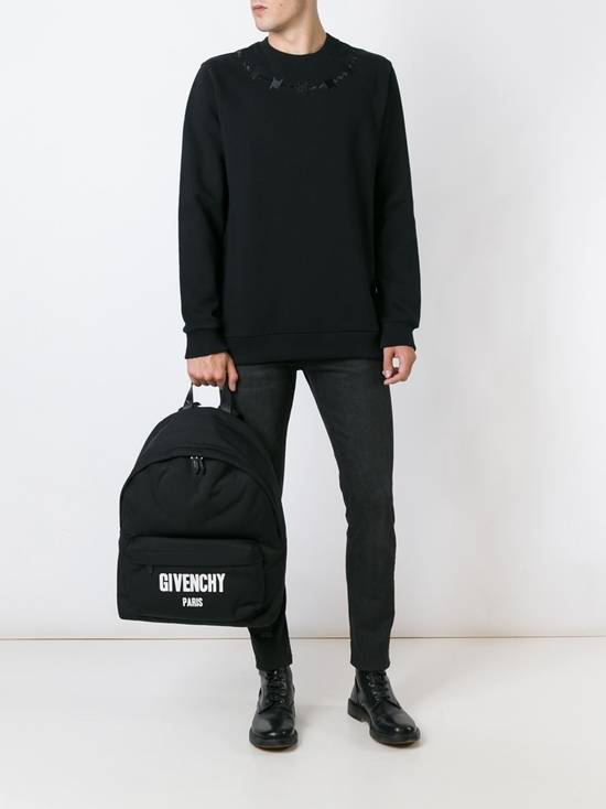 Givenchy £940 Givenchy Black Barb Wire Embroidered Rottweiler Shark Sweater size XL Size US XL / EU 56 / 4 - 2