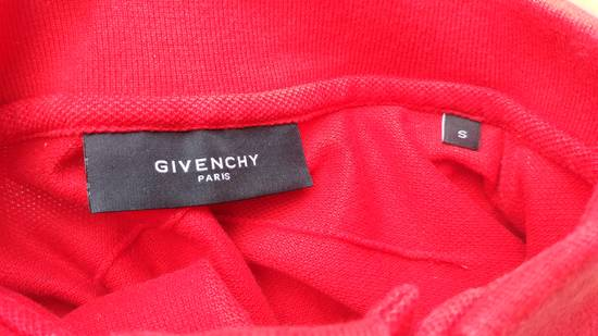 Givenchy Givenchy Red HDG Rottweiler Logo Bambi Stars Women's Relaxed Fit Polo T-shirt size S (M / L) Size US S / EU 44-46 / 1 - 7