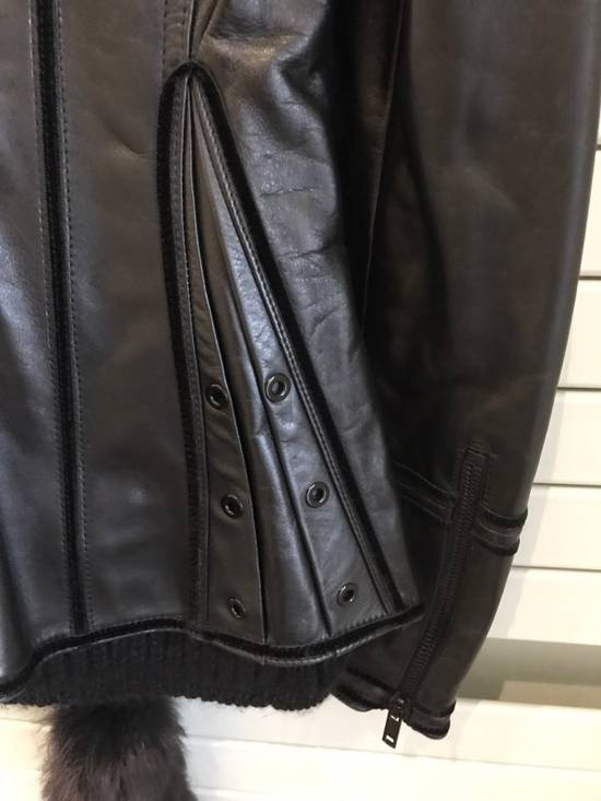 Givenchy Women Leather Biker Jacket Size US XXS / EU 40 - 4