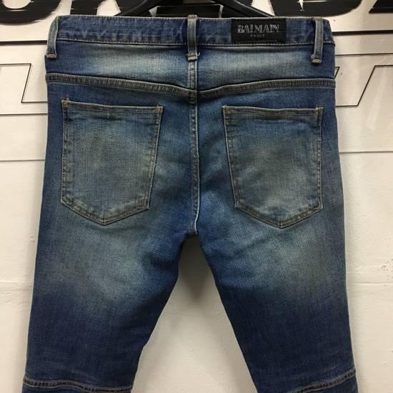 Balmain Balmain Biker Skinny Denim Pants Size US 34 / EU 50 - 5