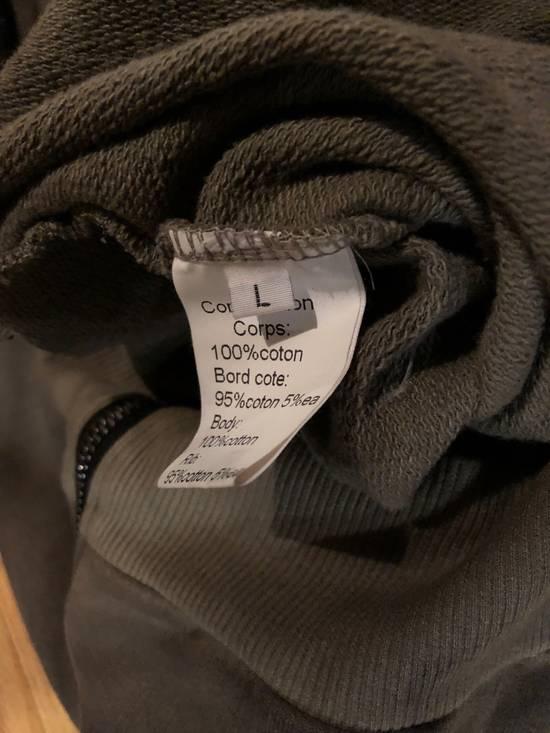Balmain Balmain Sweatshirt Zip Up Oiled Green Brown Size US L / EU 52-54 / 3 - 4