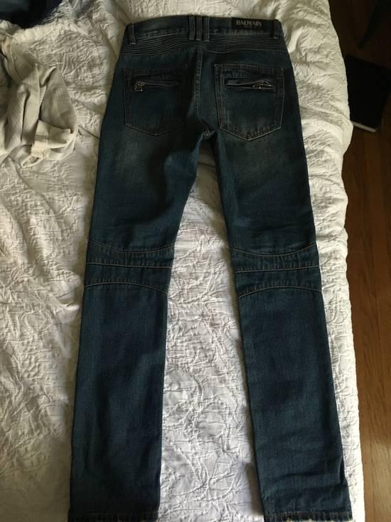 Balmain 2012 Biker Jeans Size US 30 / EU 46 - 1