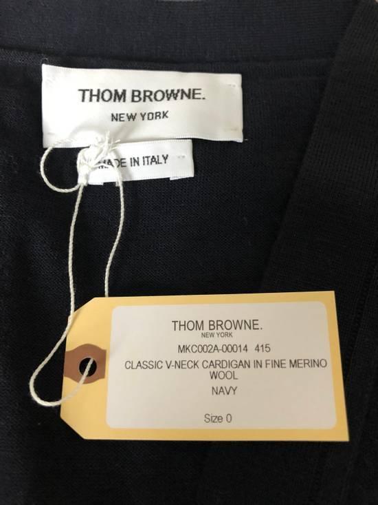 Thom Browne * FINAL DROP * Merino Wool 4 Bar Cardigan Size US XS / EU 42 / 0 - 9
