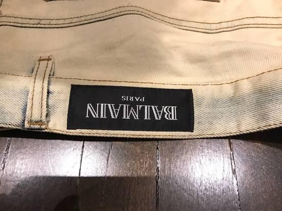 Balmain Balmain White Bleached Jeans Size US 34 / EU 50 - 3