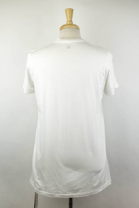 Julius 7 White Cotton Blend Short Sleeve Printed Crewneck T-Shirt 4/L Size US L / EU 52-54 / 3 - 4