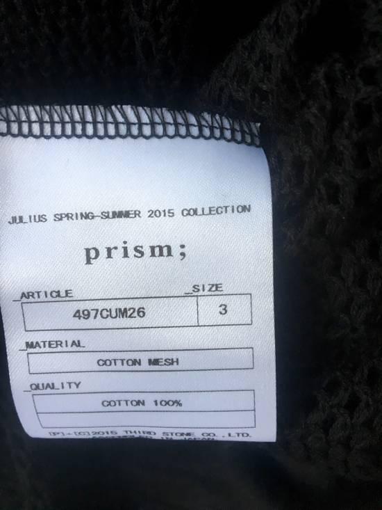 Julius Julius Prism ; S/S 15 Mesh Top Size US L / EU 52-54 / 3 - 1