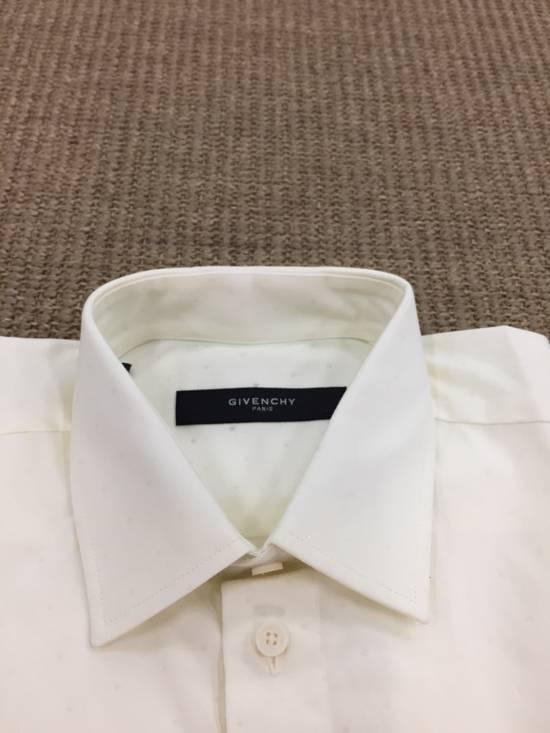 Givenchy Milk White Star Shirt Size US M / EU 48-50 / 2 - 2