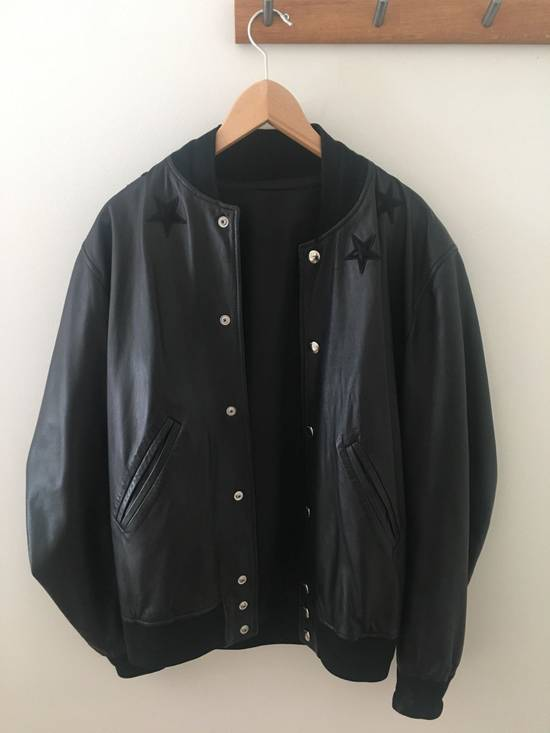 Givenchy Givenchy Leather Star Collar Bomber Jacket Size US M / EU 48-50 / 2 - 1
