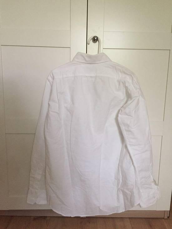 Thom Browne Heavy Cotton White Shirt Size US XL / EU 56 / 4 - 4
