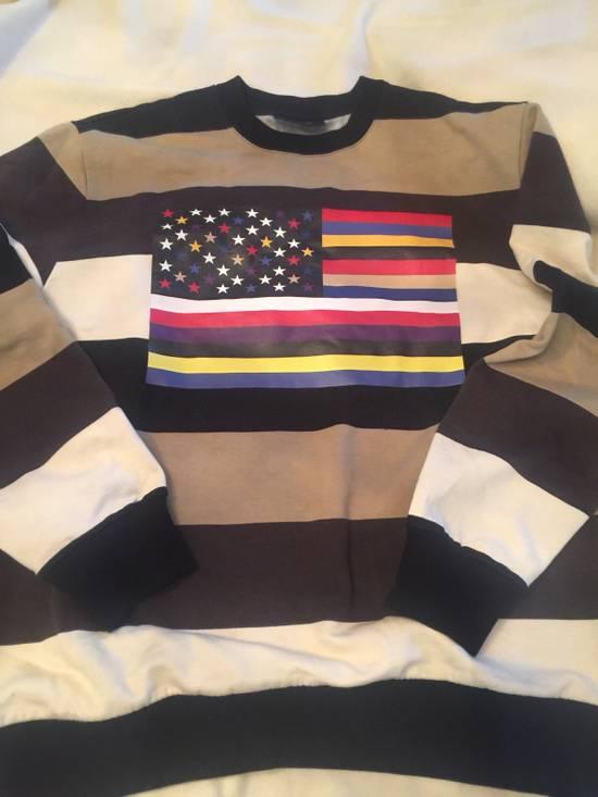 Givenchy Star/flag Sweatshirt Size US S / EU 44-46 / 1