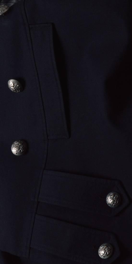 Balmain Cotton Gabardine Nappa Pea Coat Size US L / EU 52-54 / 3 - 5