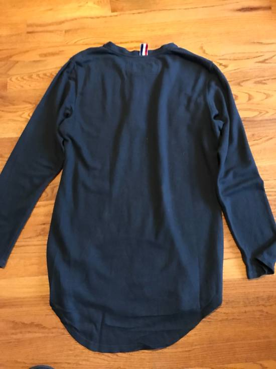 Thom Browne Long Sleeve Henley Size US M / EU 48-50 / 2 - 5