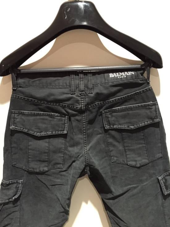 Balmain Military Biker Jeans Size US 30 / EU 46 - 8