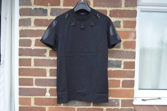 Givenchy Black Metal Stars T-shirt Size US XS / EU 42 / 0