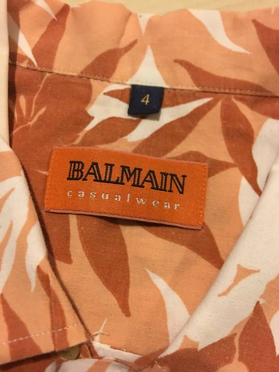 Balmain Floral Print Button Up Shirt Size US XL / EU 56 / 4 - 4