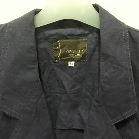 Givenchy Vtg Givenchy Gentleman Paris Linen Blazer Coat Jacket Luxury Top Designer Fashion Made in Italy good condition Size 46R - 2