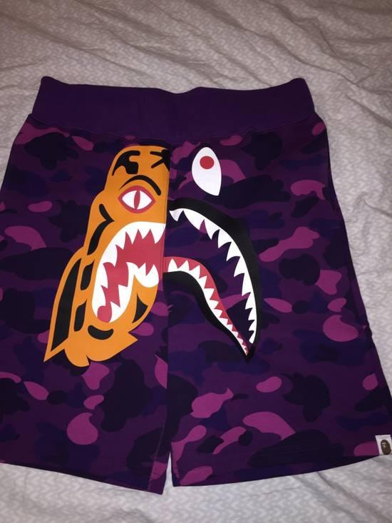 dd403b76dde6 Bape Bape Tiger Shark Purple Camo Shorts Size 32 - Shorts for Sale ...
