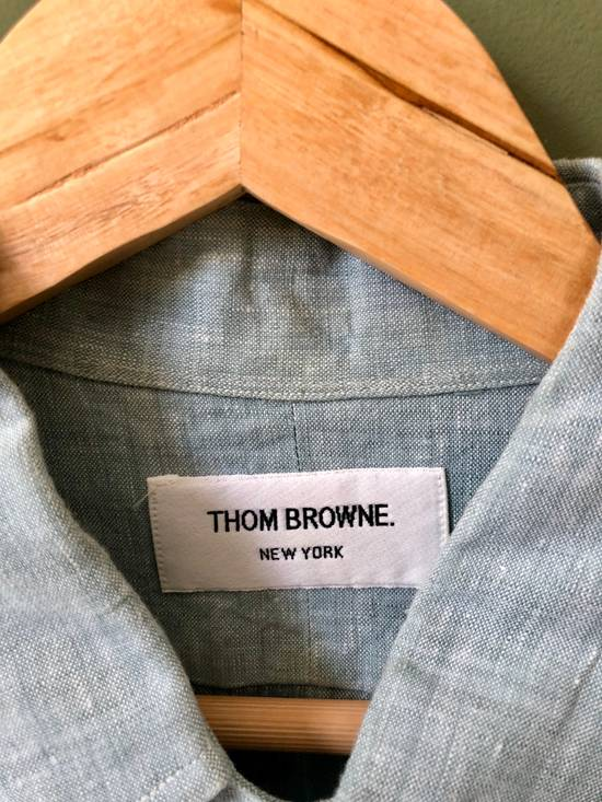 Thom Browne Button Down Linen Shirt Size US XXL / EU 58 / 5 - 2