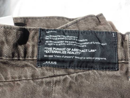 Julius Grey/Brown Twisted Denim Size US 31 - 5