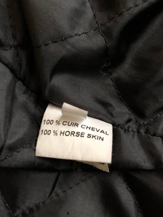 Balmain Black Horse Leather Double Rider Jacket Size US L / EU 52-54 / 3 - 13
