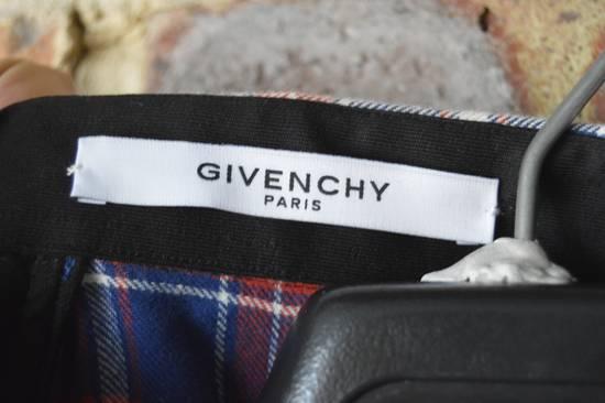 Givenchy Contrast Arms Plaid Shirt Size US XL / EU 56 / 4 - 6