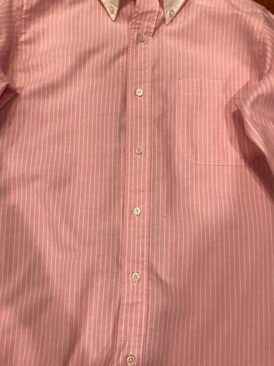 Thom Browne Pink French Cuff Shirt Size US S / EU 44-46 / 1 - 3