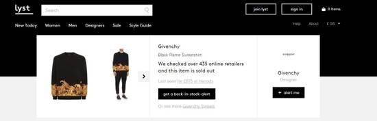 Givenchy Flame Print Sweater Size US S / EU 44-46 / 1 - 6