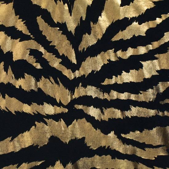 Balmain Black & Gold Cotton Short Sleeve Crewneck T-Shirt Size L Size US L / EU 52-54 / 3 - 2