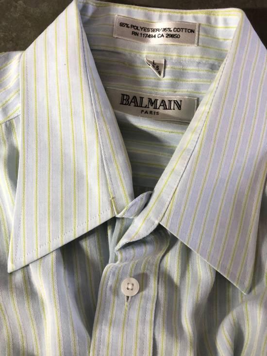Balmain Baby Blue Striped Button down Size US L / EU 52-54 / 3 - 4