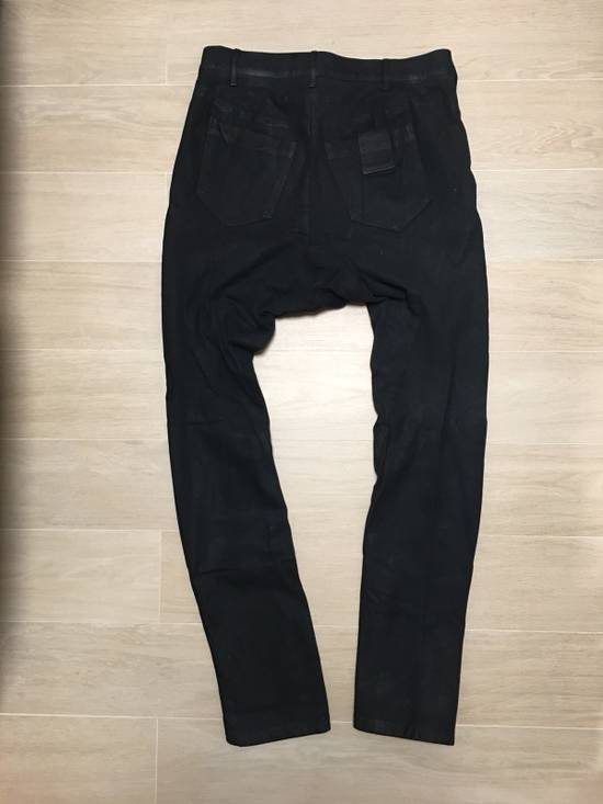 Julius Glitch Runway Waxed Jeans Size US 32 / EU 48 - 1