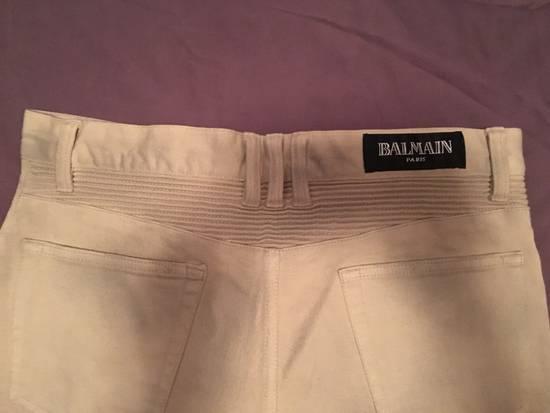 Balmain Biker Cotton Pants Size US 29 - 5