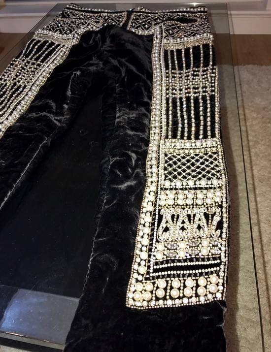 Balmain Balmain Fall 2012 Swarovski Crystal Fabergé Trouser Size US 32 / EU 48 - 9