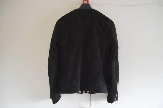Balmain 1 of 1 Black Suede Biker Size US M / EU 48-50 / 2 - 5