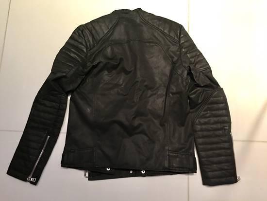 Balmain 2016 Waxed Biker Jacket - Rrand New Size US M / EU 48-50 / 2 - 6