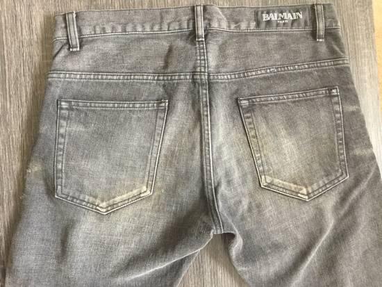 Balmain Balmain Black Distressed Jeans Size US 32 / EU 48 - 2