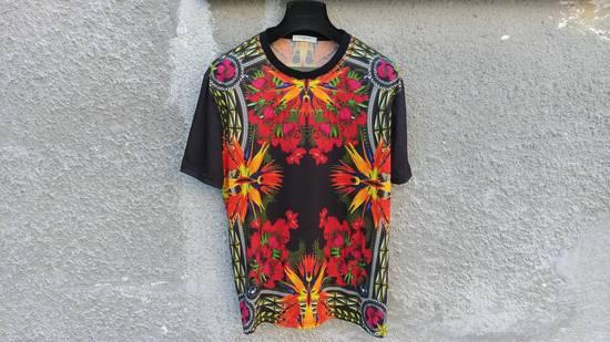 Givenchy $780 Givenchy Birds of Paradise Iris Floral Rottweiler Oversized T-shirt size XS Size US M / EU 48-50 / 2